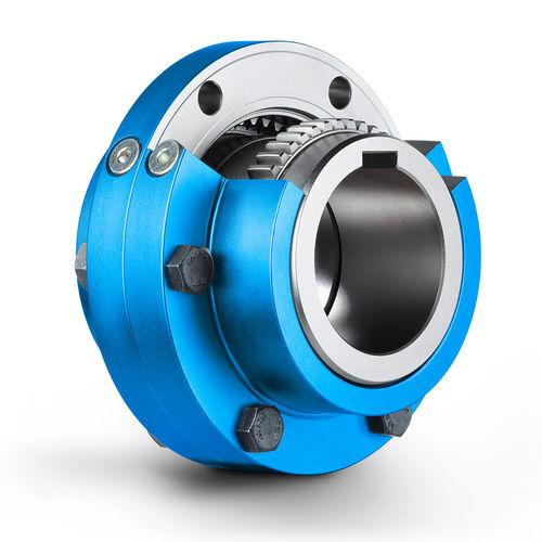 accouplement à engrenage / pour pompe / pour concasseur / pour presse