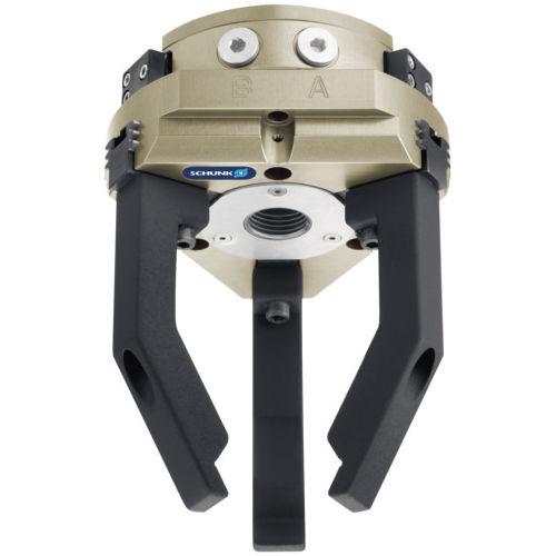pince de préhension pneumatique / concentrique / à 3 mâchoires / pour salle blanche
