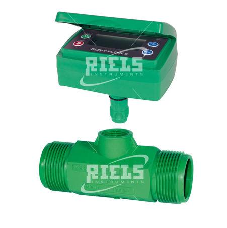 débitmètre à turbine / pour liquides / avec affichage / électronique