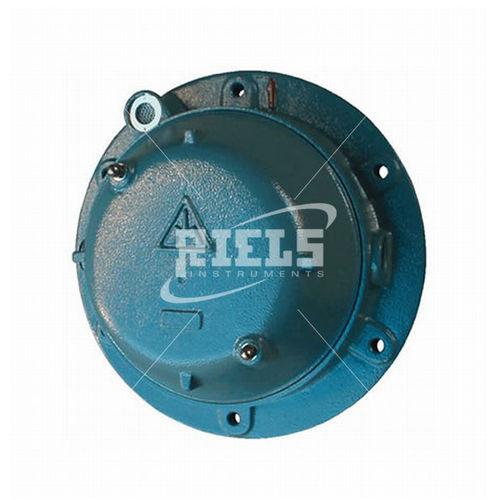 détecteur de niveau à membrane / pour solides / vertical