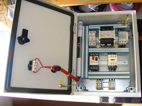 armoire électrique de commande