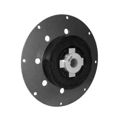accouplement rigide en torsion / avec roue d'inertie / à bride