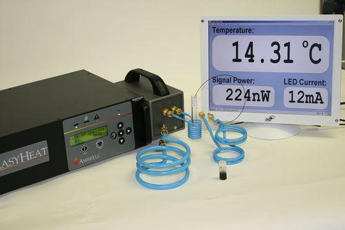 appareil de chauffage par induction pour la recherche sur les nanoparticules / 230V