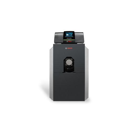 chaudière d'eau chaude / à gaz / à fuel / à condensation