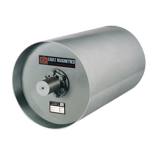 séparateur à tambour / magnétique / de métaux / compact