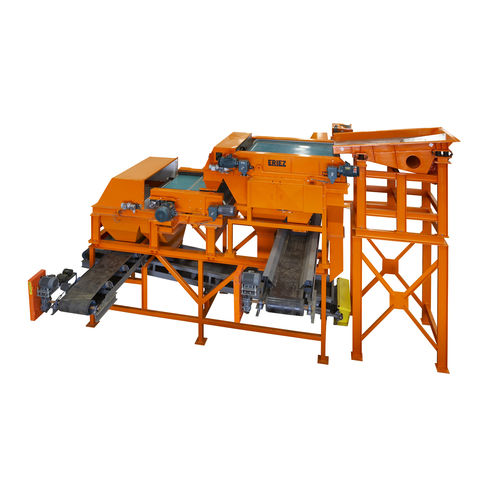 séparateur magnétique / de métaux / pour l'industrie du recyclage