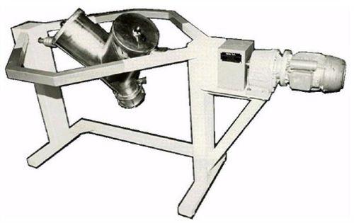 mélangeur en V / batch / de laboratoire / en acier inoxydable