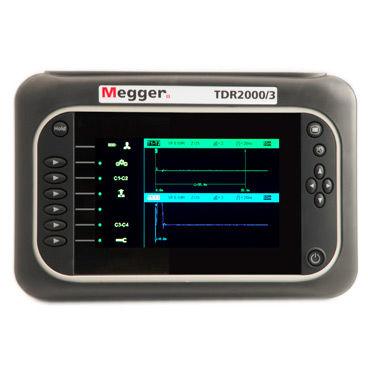 Données informatiques plomb pour Megger TDR2000 Domaine temporel relectometer Testeur