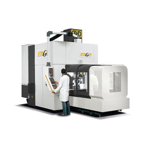 centre d'usinage CNC 5 axes / vertical / à table rotative / pour l'industrie du moule