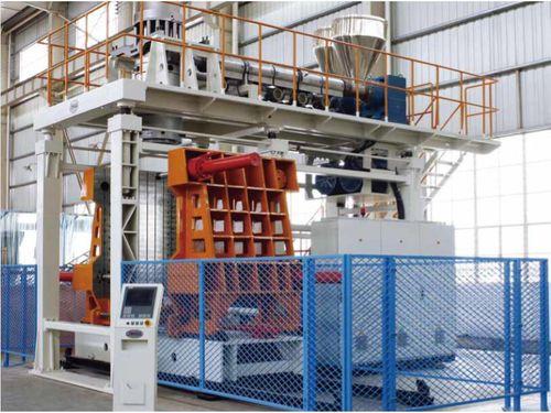 extrudeuse-souffleuse / pour grandes pièces / entièrement automatique / hydraulique