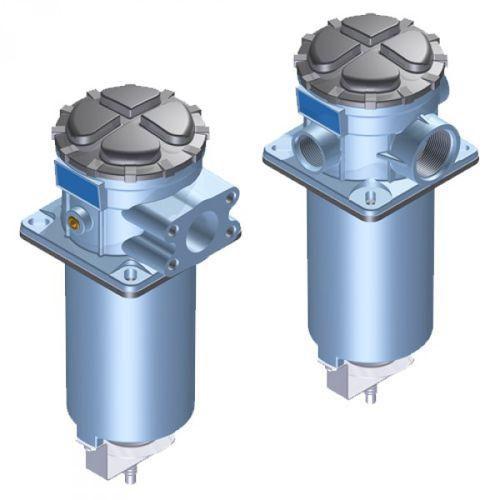 filtre à liquide / hydraulique / à tamis / semi-immergé