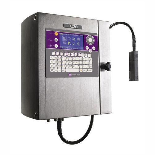 machine de marquage à petits caractères / à jet d'encre continu / benchtop / automatique