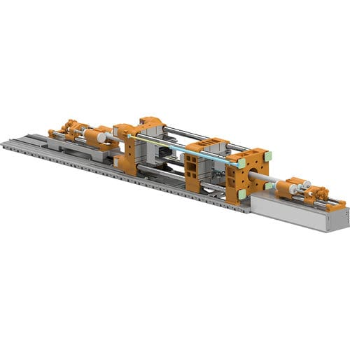 presse à injecter horizontale - HUARONG PLASTIC MACHINERY CO., LTD.