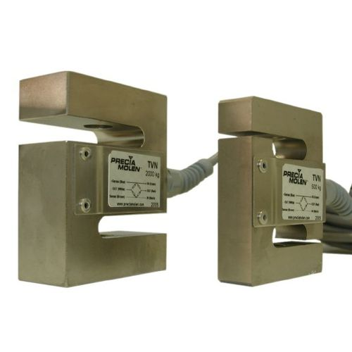 capteur de force de traction / en S / compact / en acier