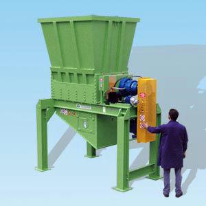 ouvreur de balles pour le recyclage de plastique
