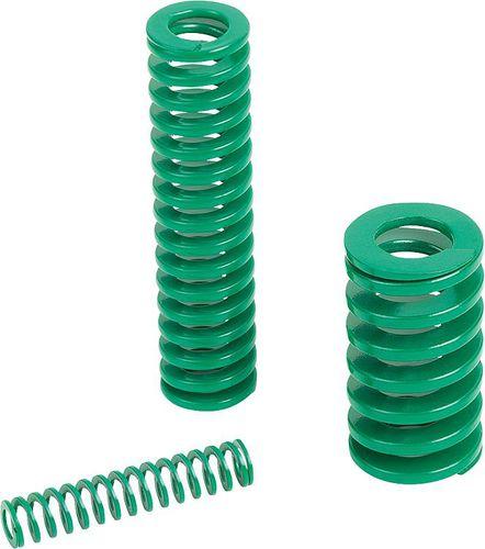 ressort de compression / en spirale / en acier chromé / DIN ISO 10243