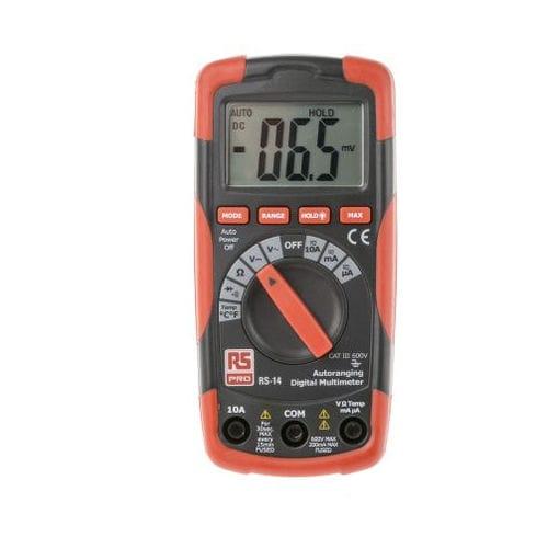 multimètre numérique / portable / 600 V / 10 A