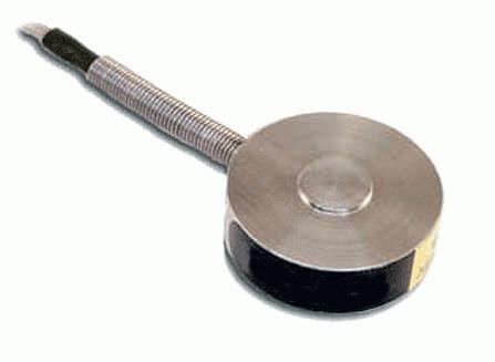 capteur de force en compression / type bouton / par jauge de contrainte / haute précision