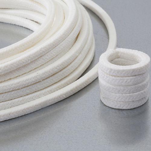 garniture tressée en PTFE / résistante aux produits chimiques / pour pompe / pour l'industrie chimique