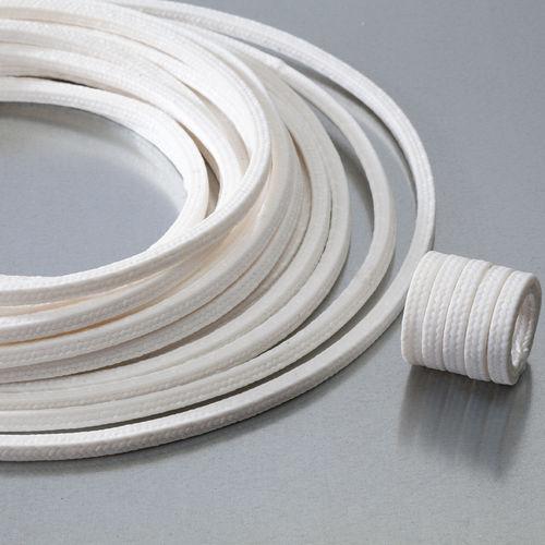 garniture tressée en PTFE / résistante aux produits chimiques / pour pompe / pour vanne