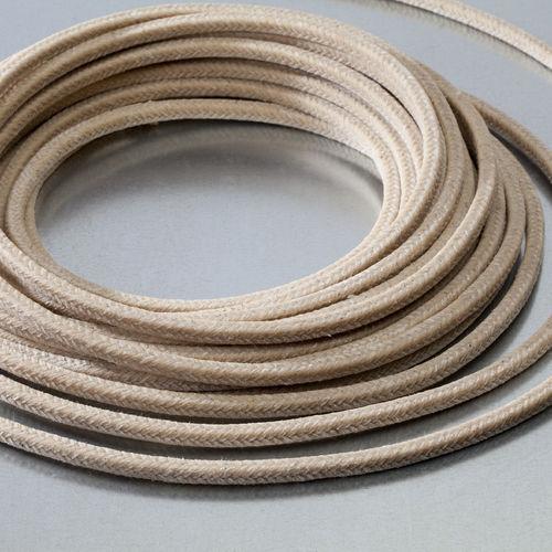 garniture tressée en coton / pour applications rotatives / pour applications hydrauliques