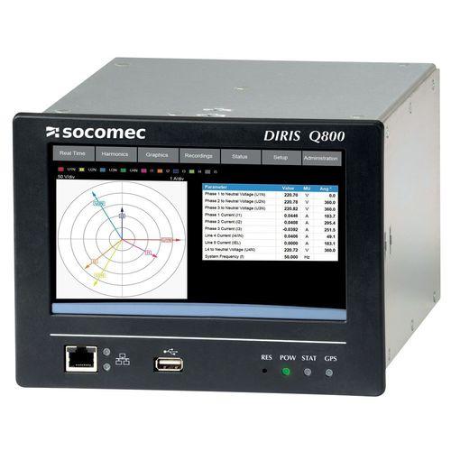 appareil de mesure de qualité d'énergie / paramètres électriques / différentiel / benchtop