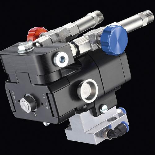 pistolet pulvérisateur / pour mousse polyuréthane / automatique / pneumatique