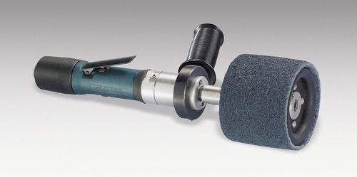 ponceuse polisseuse portative / pneumatique / légère / à brosse