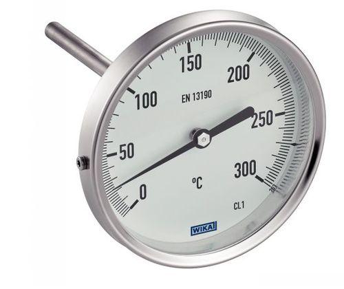 thermomètre bimétallique / analogique / à insertion / en acier inoxydable