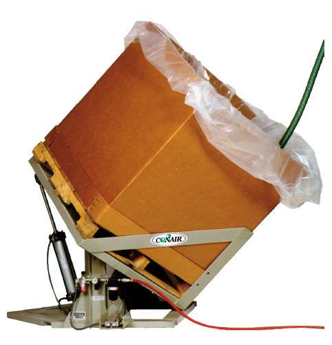 inclineur électrique / automatique / pneumatique / pour granulés en plastique