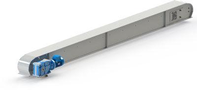 convoyeur à chaînes / horizontal