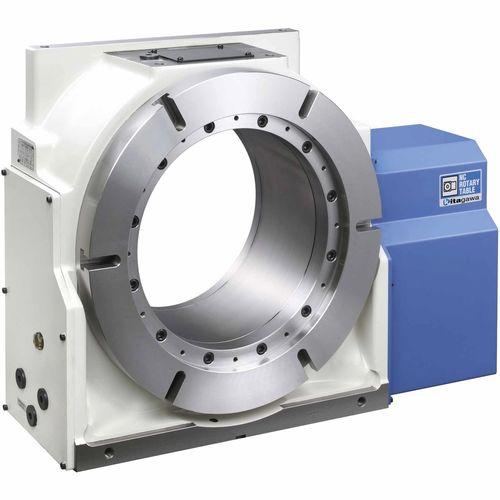table rotative entraînée par moteur / verticale / pour machine-outil / compacte