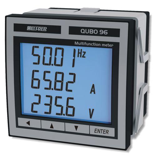 analyseur de réseau AC / de qualité d'énergie / à intégrer / numérique