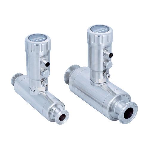 débitmètre à ultrasons / pour eau / pour huile / compact
