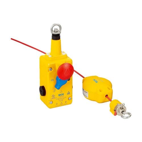 interrupteur de sécurité / à traction de câble / d'arrêt d'urgence / en métal