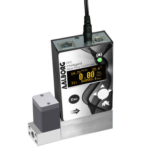 régulateur de débit massique à pression différentielle