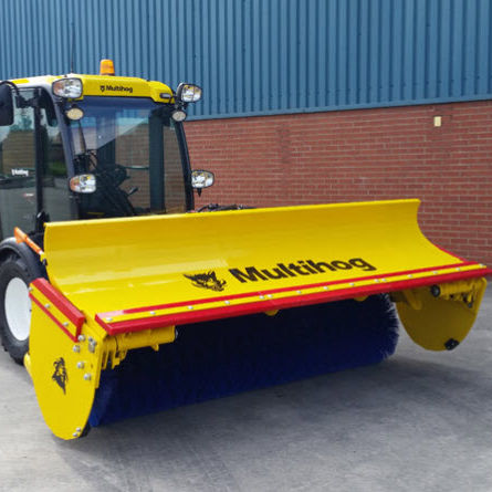 balayeuse pour tracteur / hydraulique