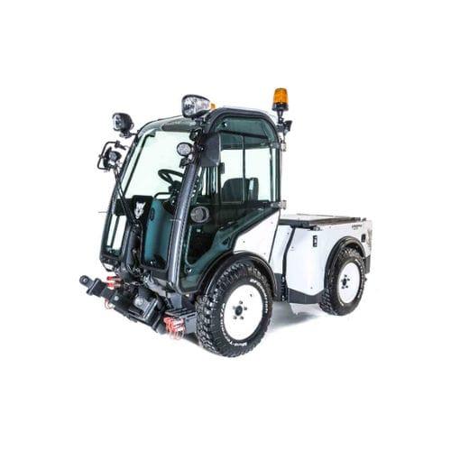 tracteur diesel / à 4 roues / à conducteur porté assis