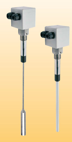 contacteur de niveau capacitif / pour produits en vrac / en acier inoxydable / en polypropylène