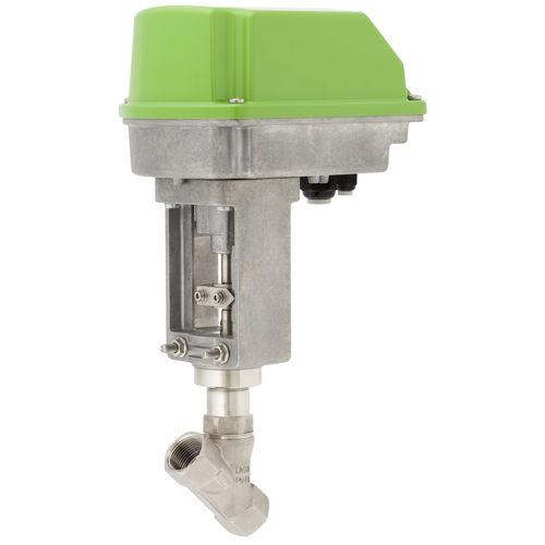vanne à commande électrique - Schubert & Salzer Control Systems GmbH