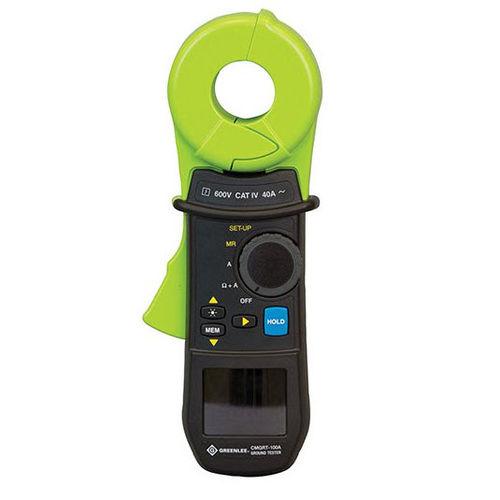 testeur de résistance / de masse / numérique / portable