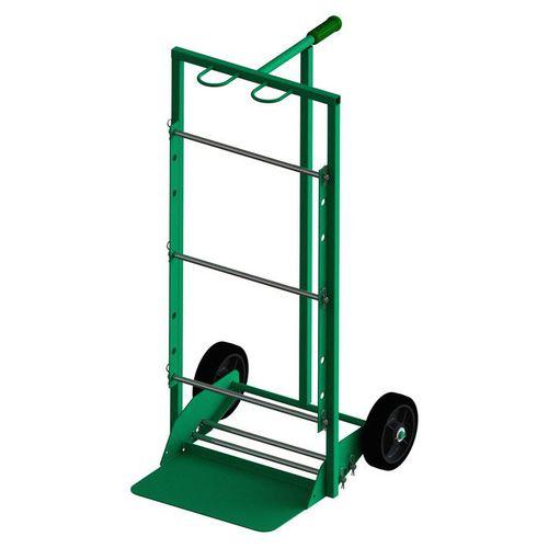 chariot de stockage / en métal / porte-bobine