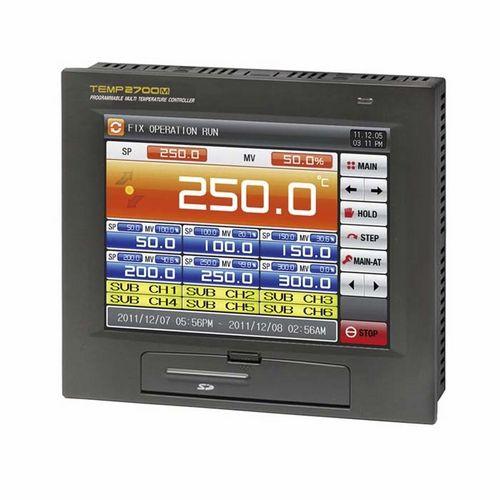 contrôleur de température à affichage numérique / multivoies / programmable