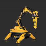 robot de démolition télécommandé / compact / pour l'industrie nucléaire