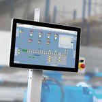 système de contrôle de surveillance / numérique / pour machines / automatique