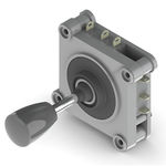 joystick compact / pour applications de vidéosurveillance / pour technologie d'assistance / pour commande à distance