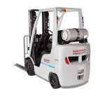 chariot élévateur GPL / à gaz / essence / à conducteur porté assis