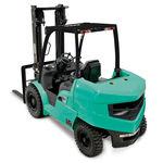 chariot élévateur diesel / à conducteur porté assis / de manutention / industriel
