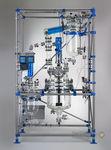 réacteur pour laboratoire / de process / en verre