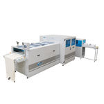 machine de pliage de tissus / électrique / automatique